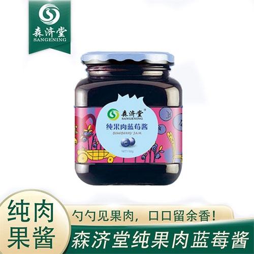 纯果肉蓝莓酱